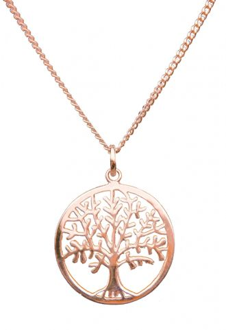 18k Rose Gold Vermeil TREE OF LIFE YGGDRASIL